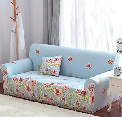 Gentil XH@G Fabric Solid Sofa Cover Single/Two/Three/Four Seater
