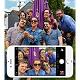 DURAGADGET Mini Pocket Wired Selfie Stick for HTC Droid, DNA, Incredible, Incredible 2 | HTC EVO HD, Facebook, Gratia, HD7, Incredible S, Inspire 4G, J Butterfly & Rezound