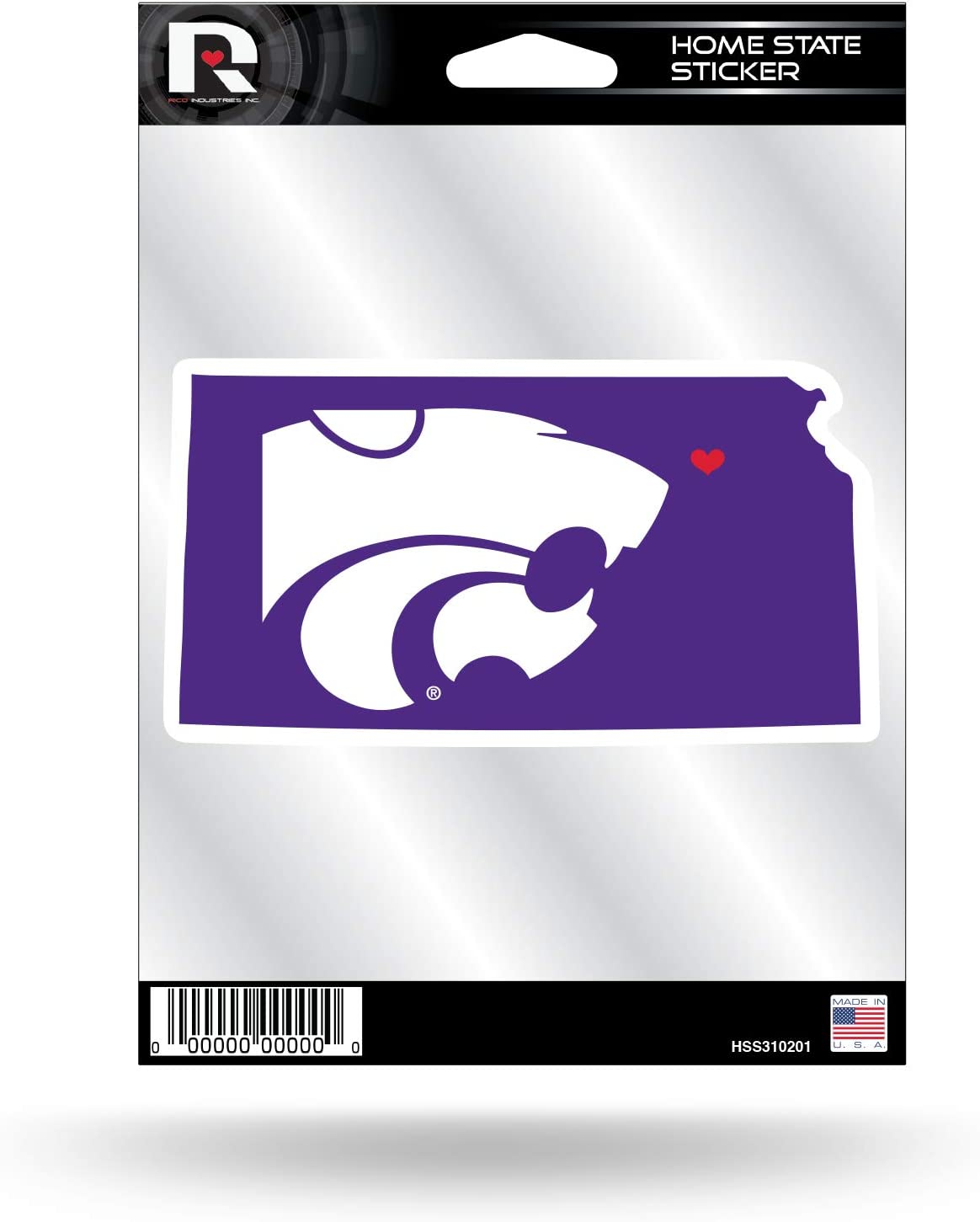 NCAA Home State Sticker