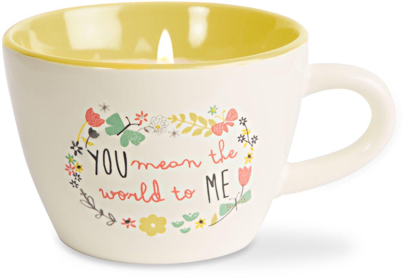 Bloom by Amylee Weeks 74096 Sister Ceramic Teacup Candle