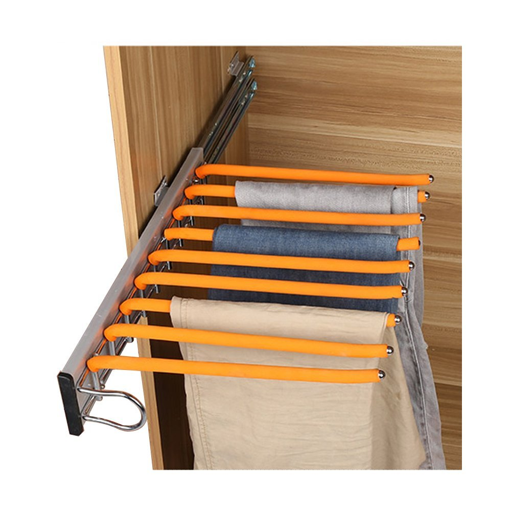 LUANT Closet Pants Hanger Bar Clothes Organizers for Space Saving and Storage,18'' x 12-1/2 by LUANT