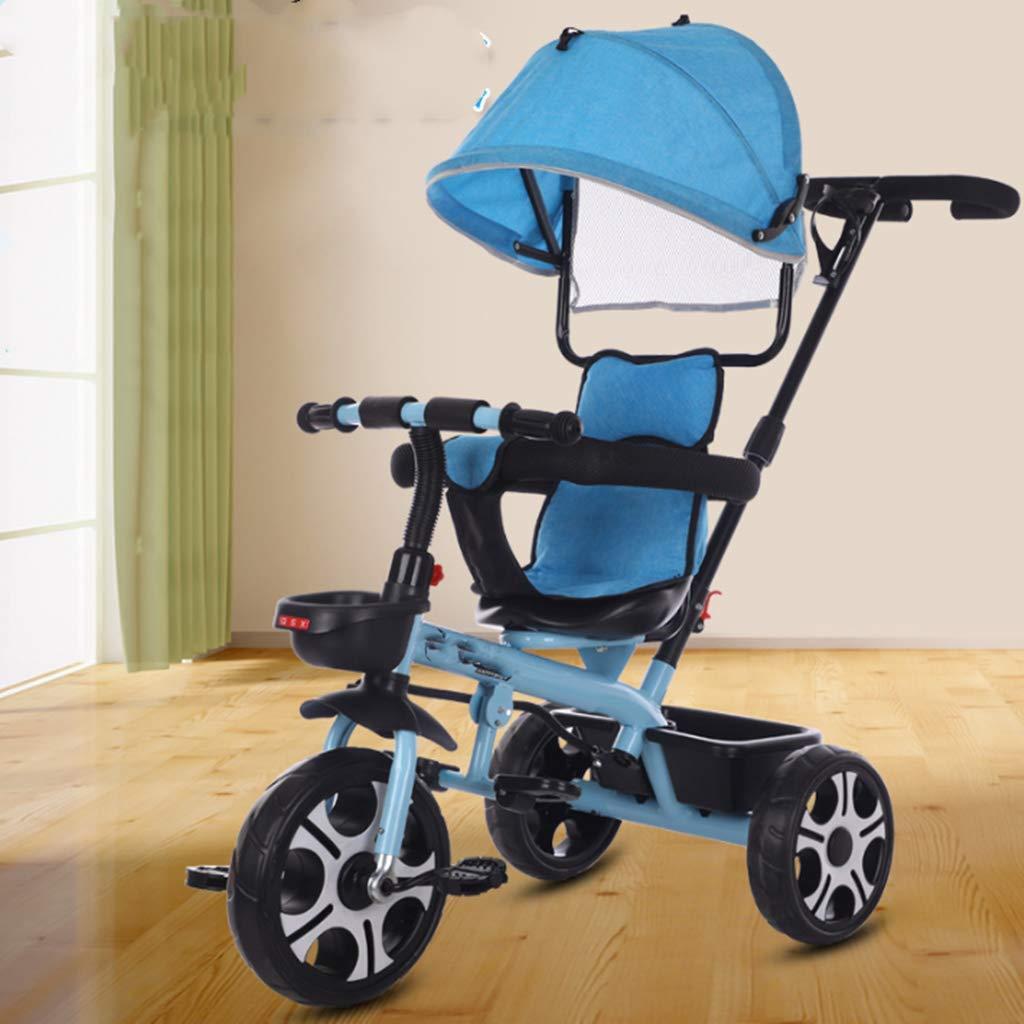 1 GGGGG Dreiradwagen, Kinderfahrrad 1-3-6 für Kinder