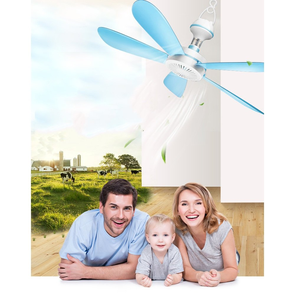 MAZHONG FANS Ventilador de techo Breeze Mingle Ventilador Dormitorio para estudiantes Ventilador de techo Mosquito Ventilador Ahorro de energ/ía Hogar Ni/ño Ventilador especial