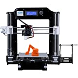ALUNAR 3D Printer DIY Prusa I3 Kit Mini Self-assembly Desktop FDM 3D Printing Machine with Heated Build Plate SD Card and PLA Filament (M505(A8))