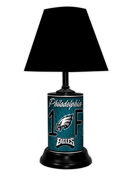 5fa9f37e2a6 Amazon.com: Philadelphia Eagles Table LAMP: Home & Kitchen