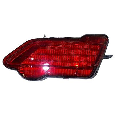 Passengers Rear Bumper Reflector Light Lamp Unit Replacement for Toyota RAV4 81480-0R020 TO1185107 AutoAndArt: Automotive