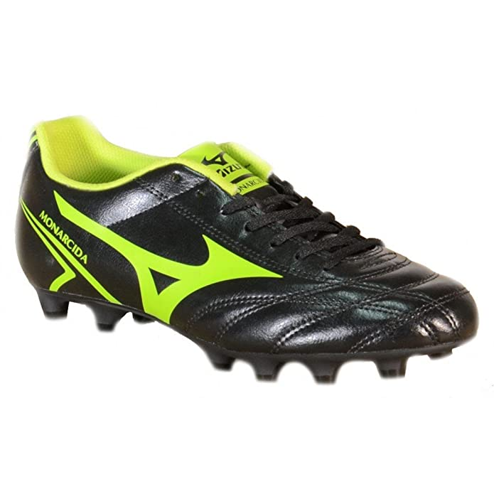 Mizuno - MIZUNO monarcida MD Chaussures de Football pour Homme en Cuir Noir  152409: Amazon.fr: Sports et Loisirs