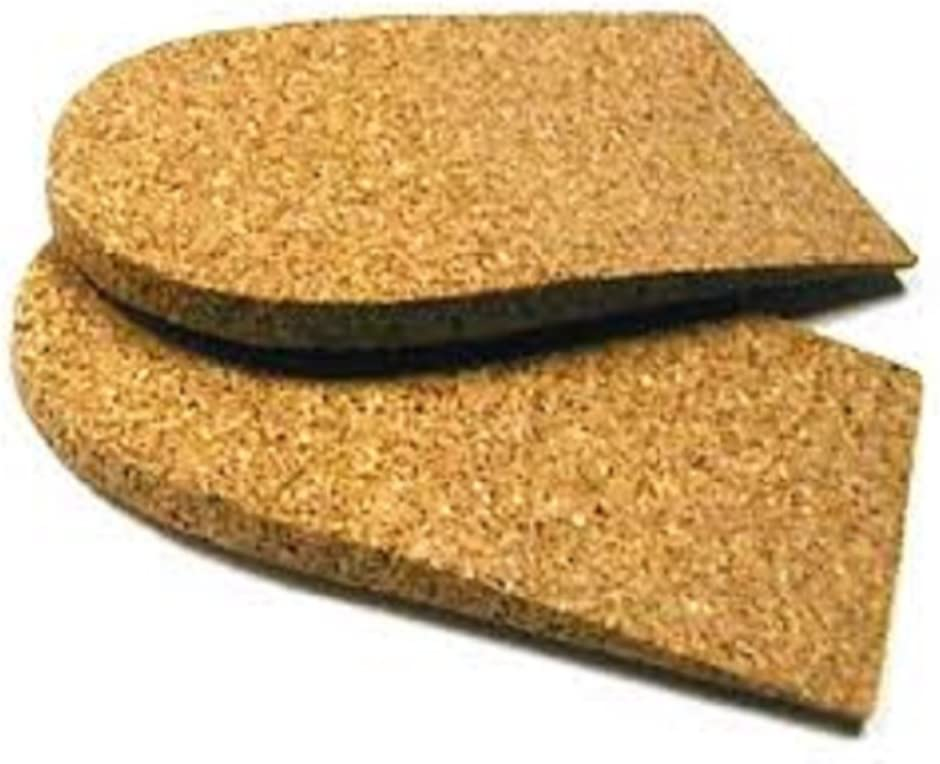 "1/8"" (3 mm) Heel Lift, Rubber Cork, Small (2"" Wide) 1 Pair 61VqagdJOCL"