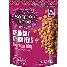 Saffron Road Organic Crunchy Chickpeas, Korean BBQ, 6 Ounce