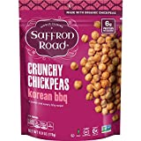 #10: Saffron Road Organic Crunchy Chickpeas, Korean BBQ, 6 Ounce