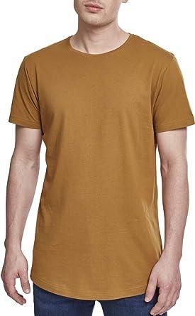 db827e758f3027 Urban Classics Herren T-Shirt Shaped Long Tee  Amazon.de  Bekleidung
