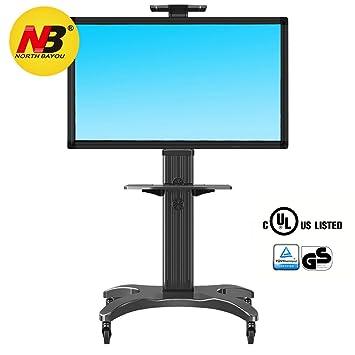 North Bayou AVF1500-50-1P - Soporte móvil de suelo para pantallas LCD,