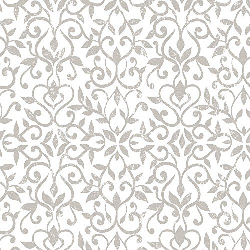 Antique Pattern (Con-Tact Brand 09F-C9A7H3-12 Creative Covering Antique Floral Taupe 18 x 9 Adhesive Drawer & Shelf Liner)