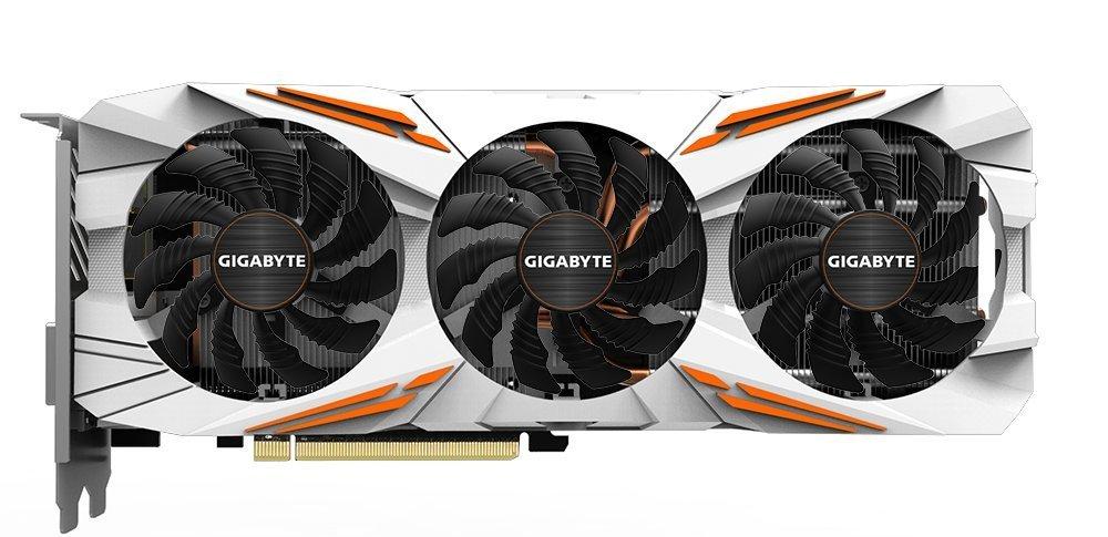 Gigabyte AORUS GeForce GTX 1080 Ti 11GB Graphic Cards GV-N108TAORUS-11GD (Certified Refurbished)