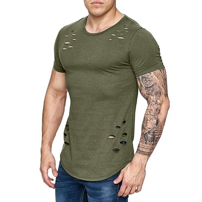 8da77f713a Weant® T Shirts Manica Corta Camicia Polo Uomo Slim Fit Tee ...