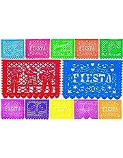 Papel Picado for Fiesta Party Decorations and cinco de mayo