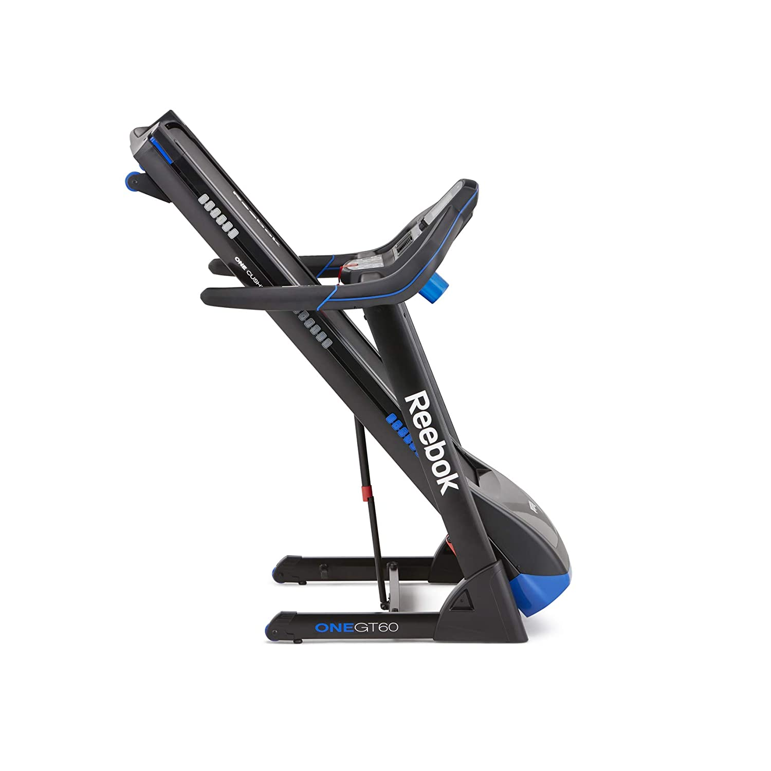 Reebok Fitness - GT60 One Series Treadmill, Color Black/Blue ...