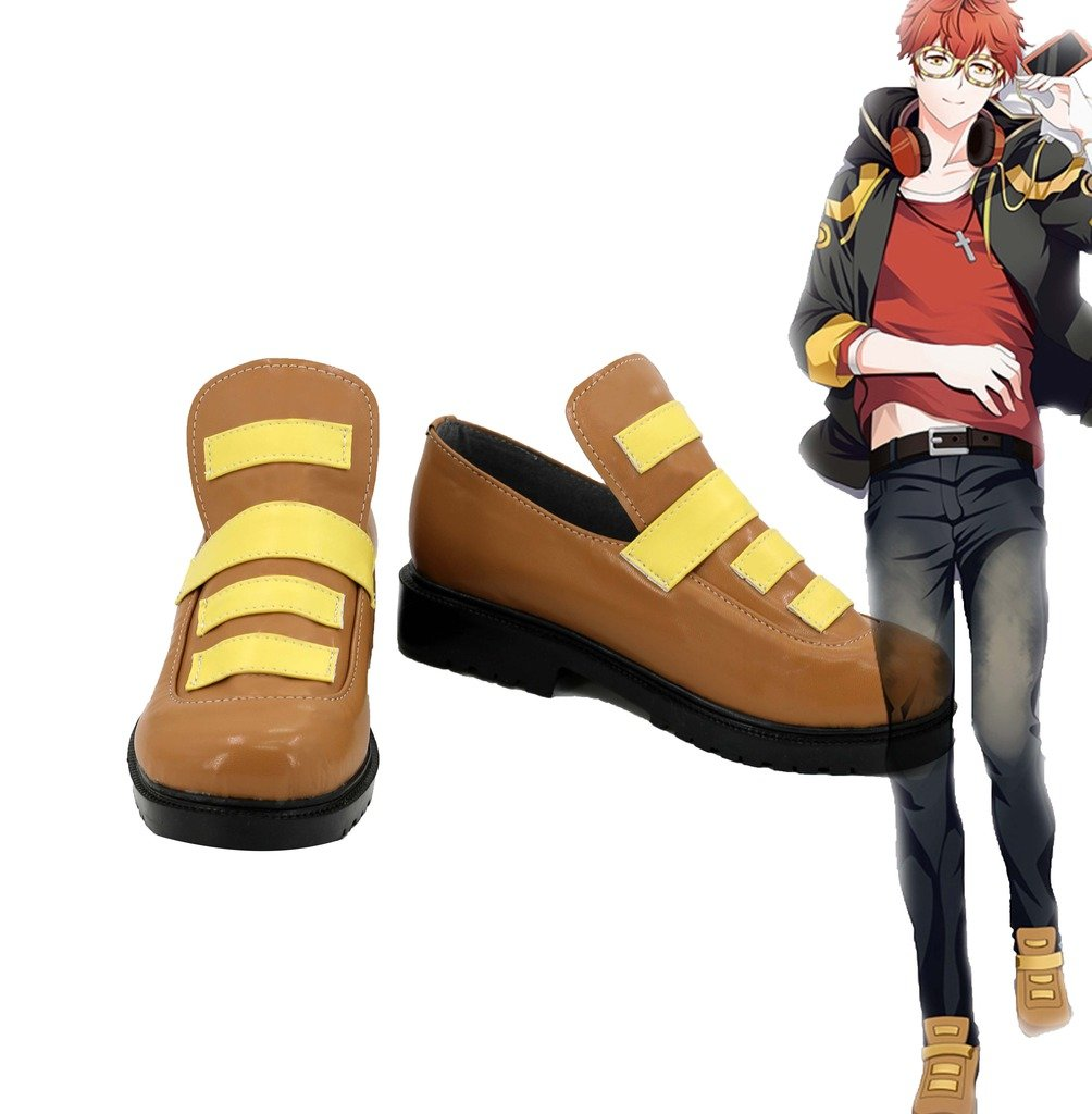 Mystic Messenger 707 Shoes Cosplay Shoes Boots Custom Made 11 B(M) US Female