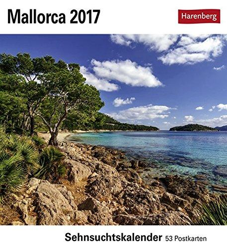 Mallorca - Kalender 2017: Sehnsuchtskalender, 53 Postkarten