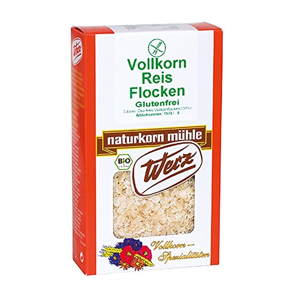 Copos de arroz glutenfrei comprar y Pure copos de cereales disfrutar