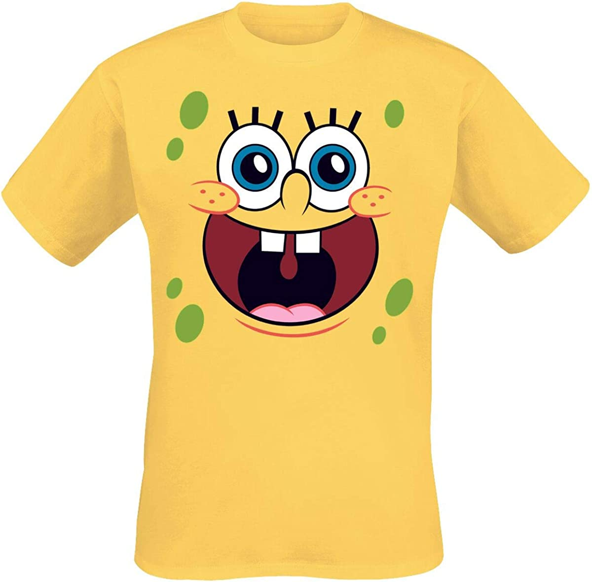 Officially Licensed Merchandise Sponge Bob Sponge Happy Face T-Shirt
