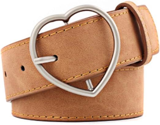 New Women/'s Casual New Men/'s Leather Belt Pin Belts Waistband Buckle Waist Strap