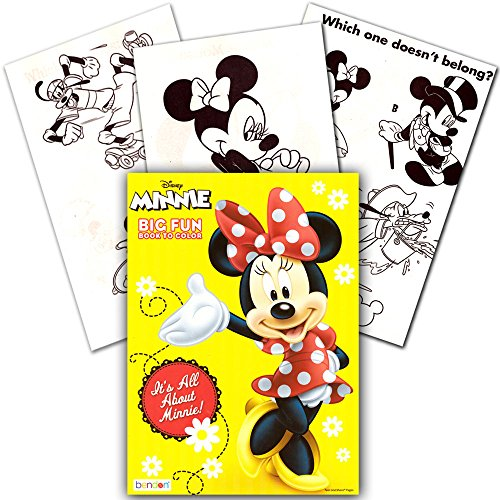 Disney Minnie Mouse Coloring Book