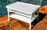 Tortuga Outdoor Portside Coffee Table - White