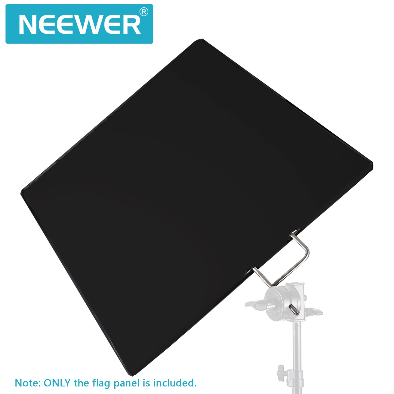 Neewer 30x36 inches 4-in-1 Metal Flag Panel Set Reflector with Soft White, Black, Silver and Gold Cover Cloth for Photo Video Studio Photography by Neewer (Image #2)