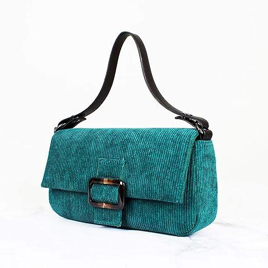Bag Bolso al Hombro para Mujer Verde Verde: Amazon.es: Hogar