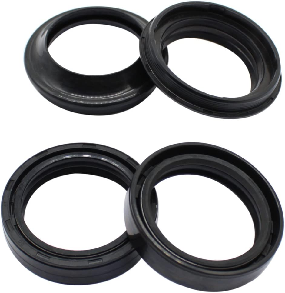 GT550 GT 550 Le Mans 1972-1977 Cyleto Front Fork Oil Dust Seal 35 x 48mm for Suzuki GT500 GT 500 1976 1977 GS550 GS 550 1977 1978 1979