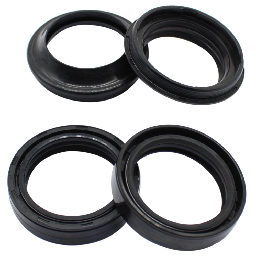 Cyleto Front Fork Oil Seal and Dust Seal Kit 50 x 63 x 11mm for MARZOCCHI MAGNUM 50 MM FORK TUBES