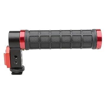 CAMVATE Top Handle Grip Befestigung an der Kamera Blitzschuh für Cinema Kamera (Griff aus Gummi, Schwarz)