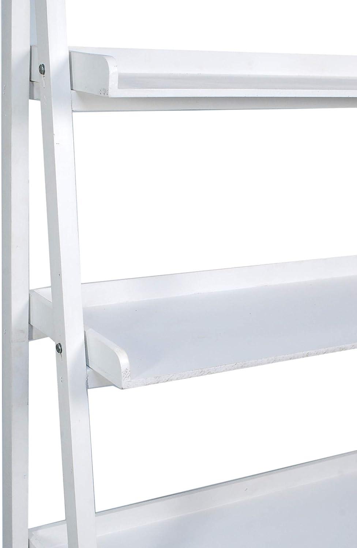 Vidal Regalos Estanteria Retro Madera Blanca 195 cm: Amazon.es: Hogar