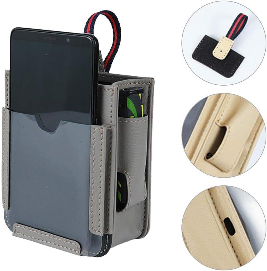 Car Air Vent Aufbewahrungstasche Multifunktionaler Autotaschen-Telefonhalter Organizer Strong Automotive Mobile Phone Storage Pouch 4 Pockets Organizer