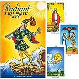 HUNTGIRL GIFTS Radiant Rider-Waite Tarot Set with