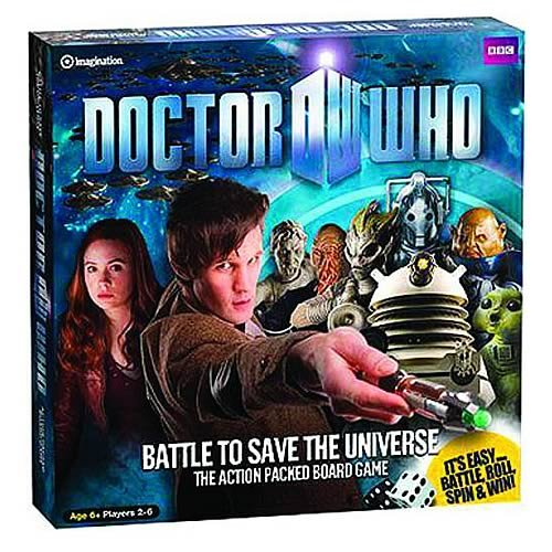 Dr Who Battle To Save The Universe Brettspiel Brettspiel Brettspiel [UK Import] 4e871e