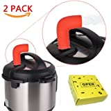Instant Pot Steam Release Accessory 2 Pack, Silicone Pressure Cooker Steam Pipe Valve ONLY for Instapot DUO and Smart Model