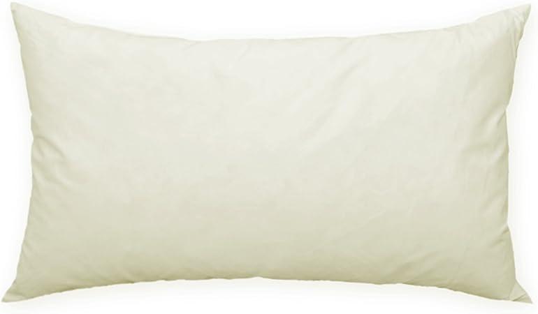 Relleno de cojín de plumas, # 242 (80 x 80), algodón, weiß