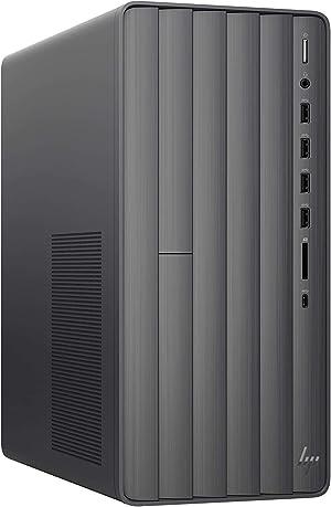 2020 HP Envy VR Ready Gaming Desktop Computer_ 10th Gen Intel Octa-Core i7-10700F_ 32GB DDR4 RAM_ 1TB HDD+ 2TB PCIe SSD_ DVDRW_ NVIDIA GeForce GTX 1660 Super 6GB_ Windows 10, BROAGE 64GB Flash Drive