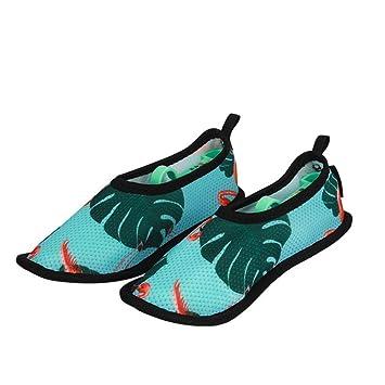 YFDYG Zapatos De Playa, Zapatos Antideslizantes Verdes ...