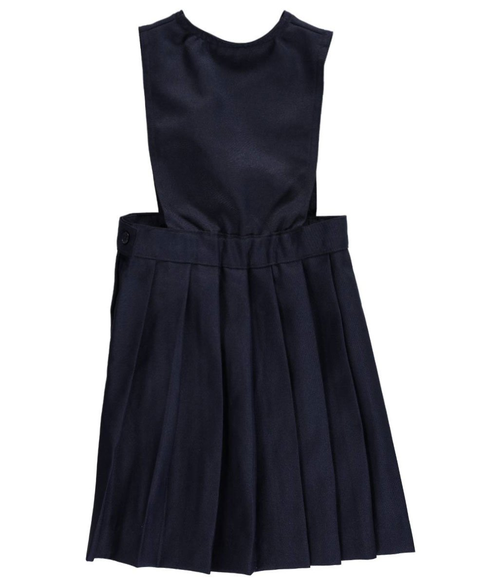 French Toast ''Stacy V-Neck Wide Strap Jumper - navy, 4t