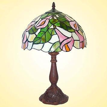 Lámpara De Mesa Estilo Tiffany, Romántica Retro Luces De ...