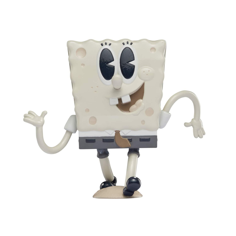 """Alpha Group Spongebob Squarepants, Spongepop Culturepants, 4.5"""" Collectible Vinyl Figure, Old-Timey"""