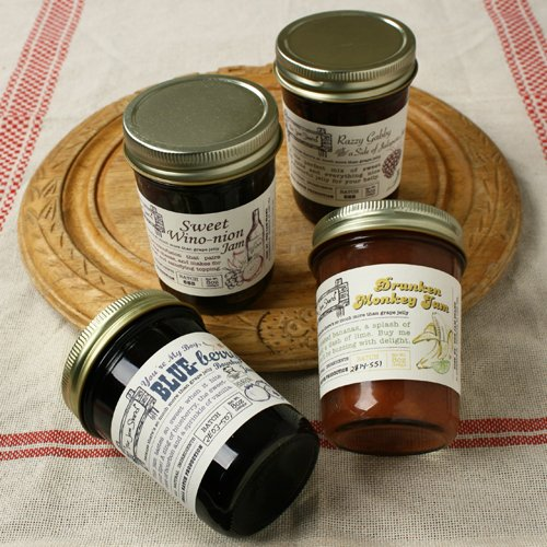The Jam Stand Sweet Wino Onion Jam, 8 oz