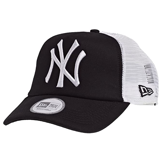 New Era Clean Trucker Neyyan Black/White Gorra, Hombre, Negro ...