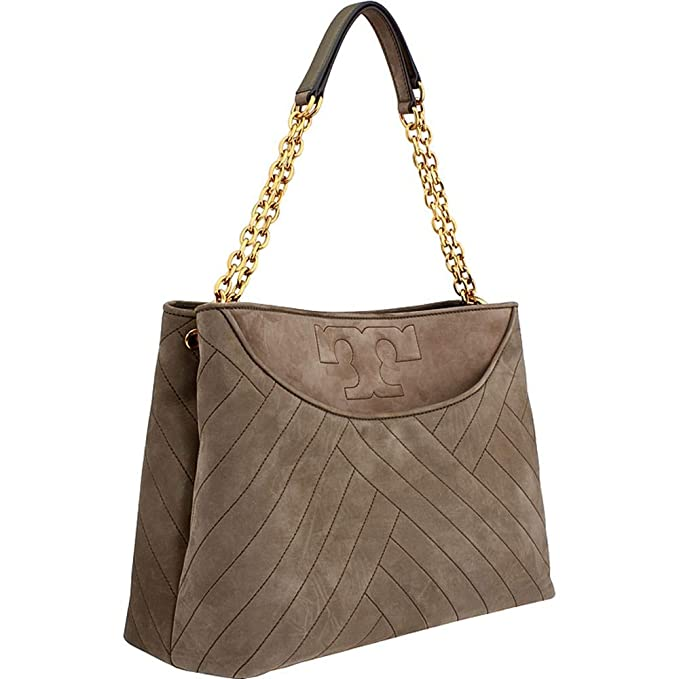 cd5610c6caf4 Amazon.com  Tory Burch Alexa Ladies Medium Leather Tote Handbag 41466312   Watches