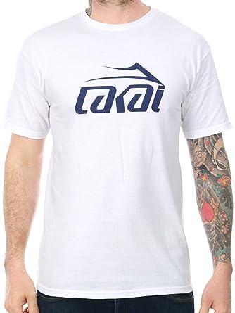 cf50e2b228 Lakai White SP17 Basic T-Shirt  Amazon.co.uk  Clothing