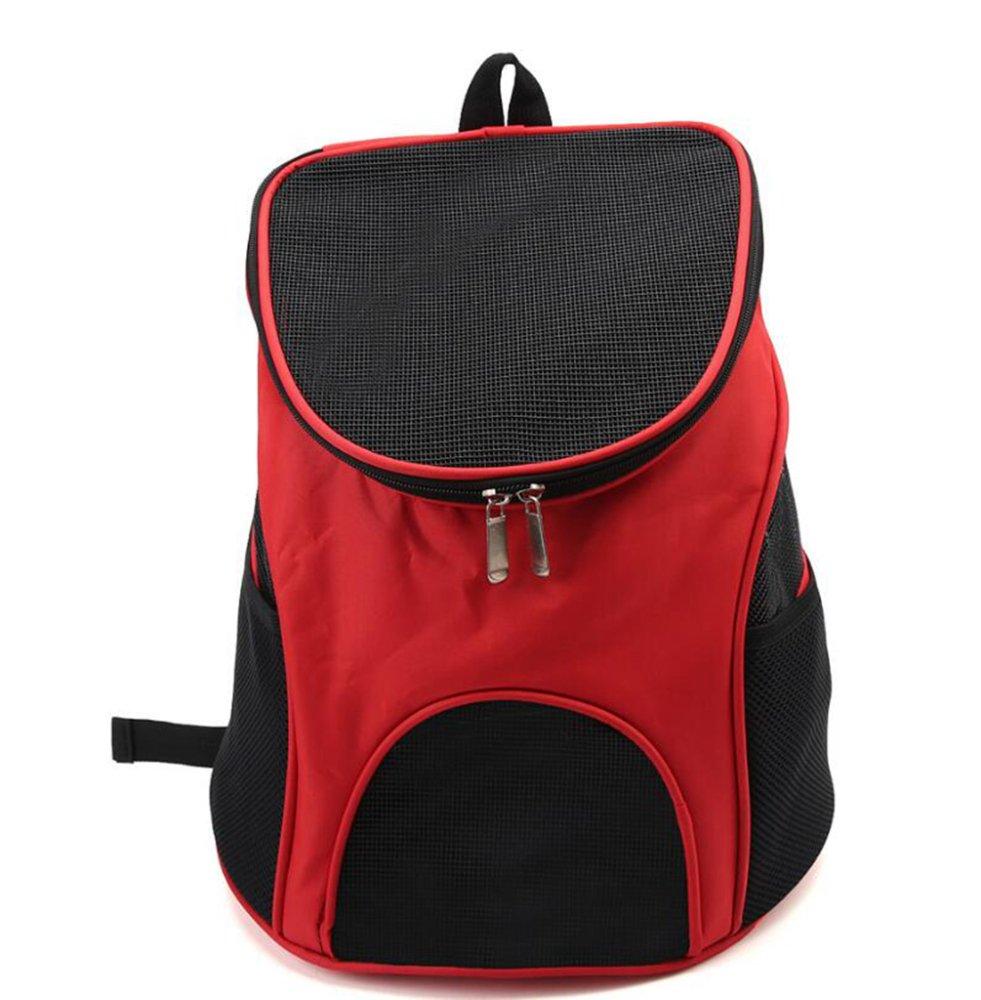 A Kaxima Pet Carrier Backpack Pet messenger Bag Backpack folding pet bag out of pocket bag double shoulder bag 33x30x31cm