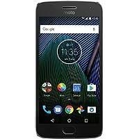 Motorola xt1681Dual SIM Moto G5Plus Smartphone Unlocked, Android 7.0Nougat, visualización 13,2cm cámara 12MP, 32GB, Dual SIM, Gris–Modelo Internacional